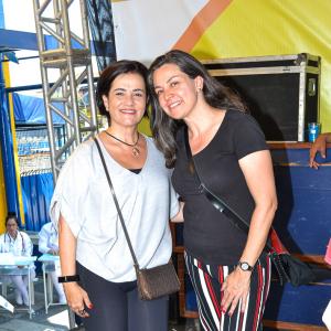 Vereadora Aline Cardoso junto com a Subprefeita Sandra Santana